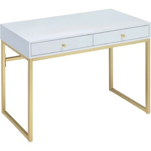 Traylor 2 Drawer Desk by Mercer41