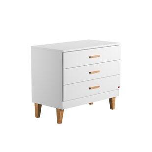 Yuliana 3 Drawer Dresser