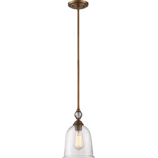Charlton Home Marion 1-Light Bell Pendant