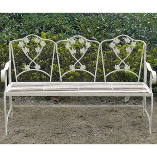 Puga Iron Bench By Sol 72 Outdoor