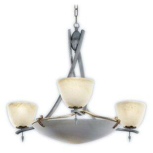 Zanin Lighting Inc. Toscana 4-Light Shaded Chandelier