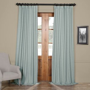 Thoma Indoor Bellino Blackout Rod Pocket Single Curtain Panel