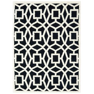 Purchase Alhambra Black/White Area Rug By Mercer41
