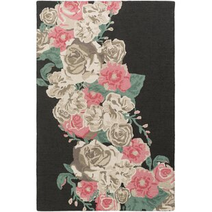 Online Reviews Lacoste Hand-Tufted Pink Area Rug ByHouse of Hampton
