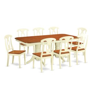 Napoleon 9 Piece Dinning Set by East West Furniture