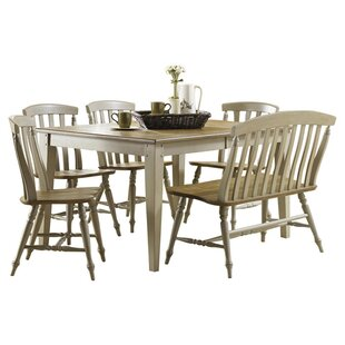 Cher 6 Piece Extendable Dining Set Rosalind Wheeler