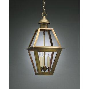 Northeast Lantern Boston 3-Light Outdoor Hanging Lantern