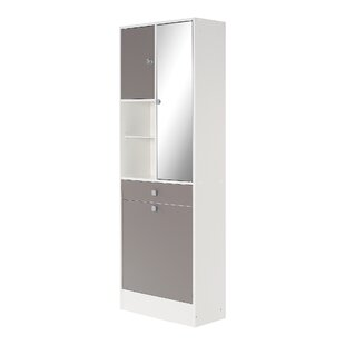 62.6 X 181.1cm Free Standing Tall Bathroom Cabinet By Mercury Row