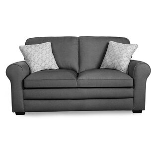 Allain Rolled Arm Loveseat