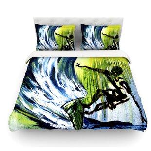 Greenroom by Josh Serafin Surfer Featherweight Duvet Cover