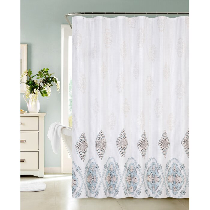 Bungalow Rose Nisha Single Shower Curtain