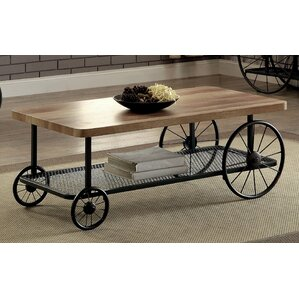 Springport Industrial Coffee Table by Gracie..