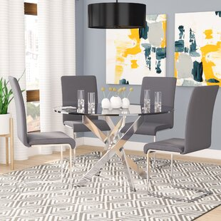 Fields 5 Piece Dining Set Orren Ellis