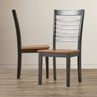 Pino Simmons Casegoods Solid Wood Dining Chair (Set of 2)