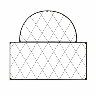 ACHLA Oxfordshire Iron Lattice Panel Trellis