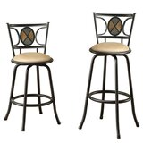 Gorge Adjustable Height Bar Stool by Fleur De Lis Living