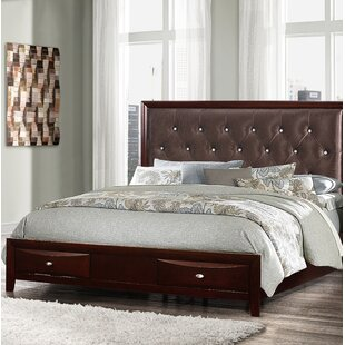 Pierpoint Upholstered Storage Panel Bed by Rosdorf Park Discount