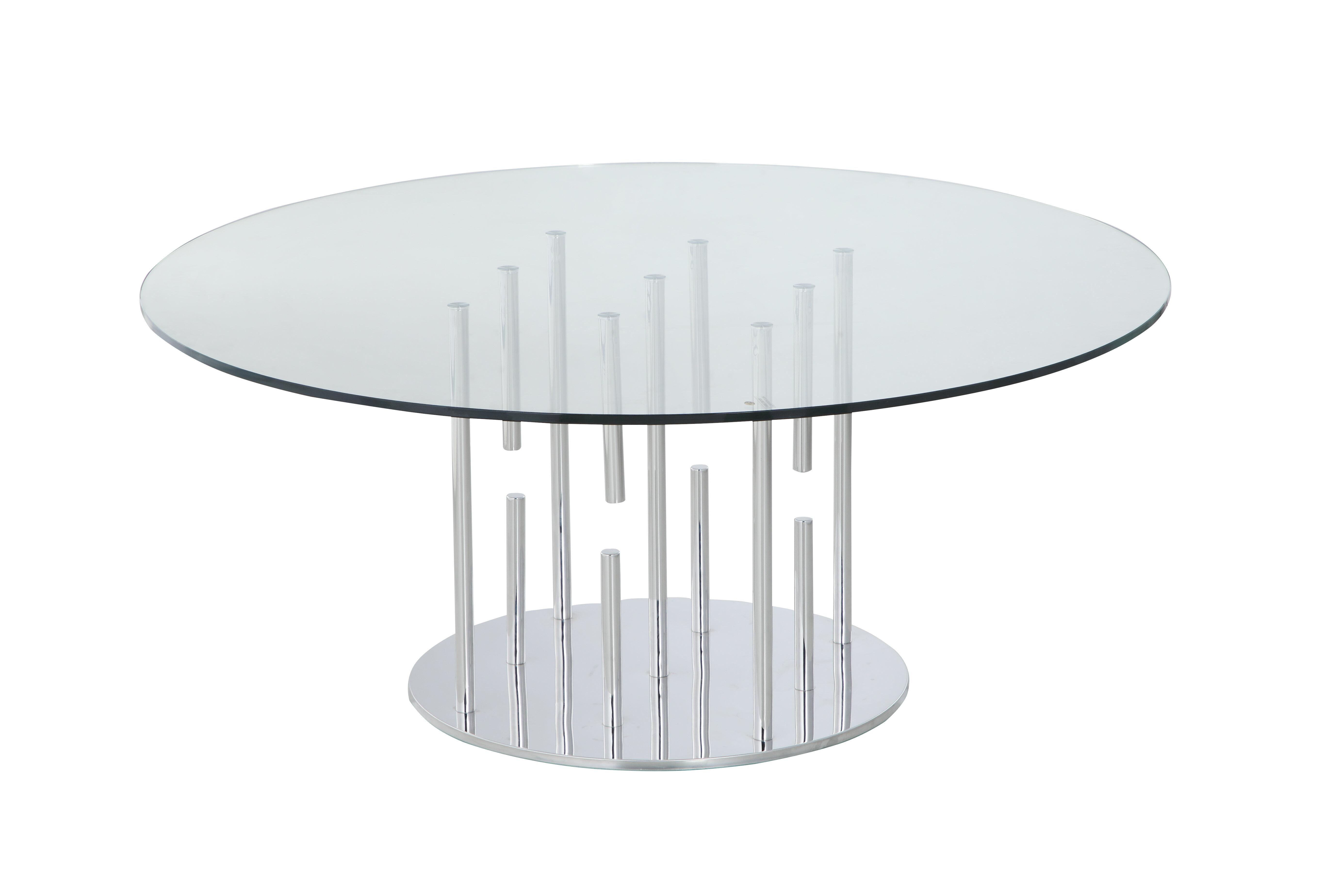 Orren Ellis Ashburt Pedestal Coffee Table Wayfair