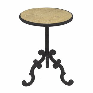 Vinit Metal End Table by Gracie Oaks