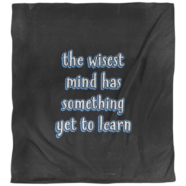 East Urban Home Learning Inspirational Quote Single Duvet Cover Wayfair