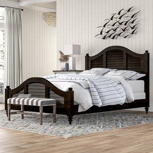 Harrison Panel Bed by Beachcrest Home