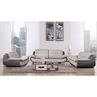 Latitude Run Victorino 3 Piece Living Room Set