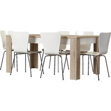 Ahoghill 7 Piece Dining Set