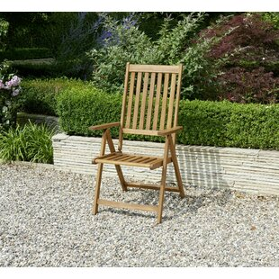 Edina Folding Deck Chair Image