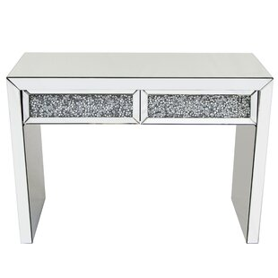 Crushed Glass Console Table By Willa Arlo Interiors