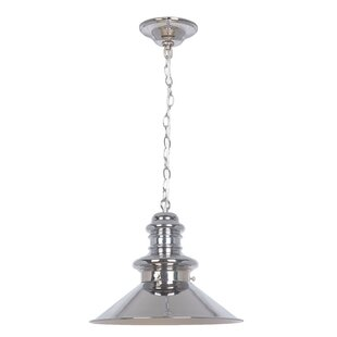 Orren Ellis Glennis 1-Light Cone Pendant