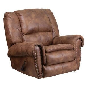 Darby Home Co Jaxxon Breathable Comfort Padre Manual Rocker Recliner