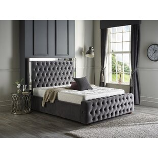 Kaleb Upholstered Bed Frame By Canora Grey
