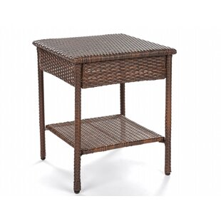 Rushford Wicker Side Table