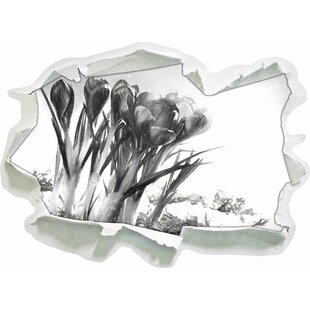 Art Spring Floral Background Wall Sticker By East Urban Home