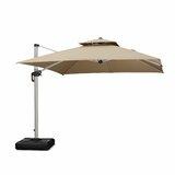 Diamondville 10 Square Cantilever Sunbrella Umbrella