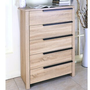 Clegg Capacious 5 Drawer Dresser