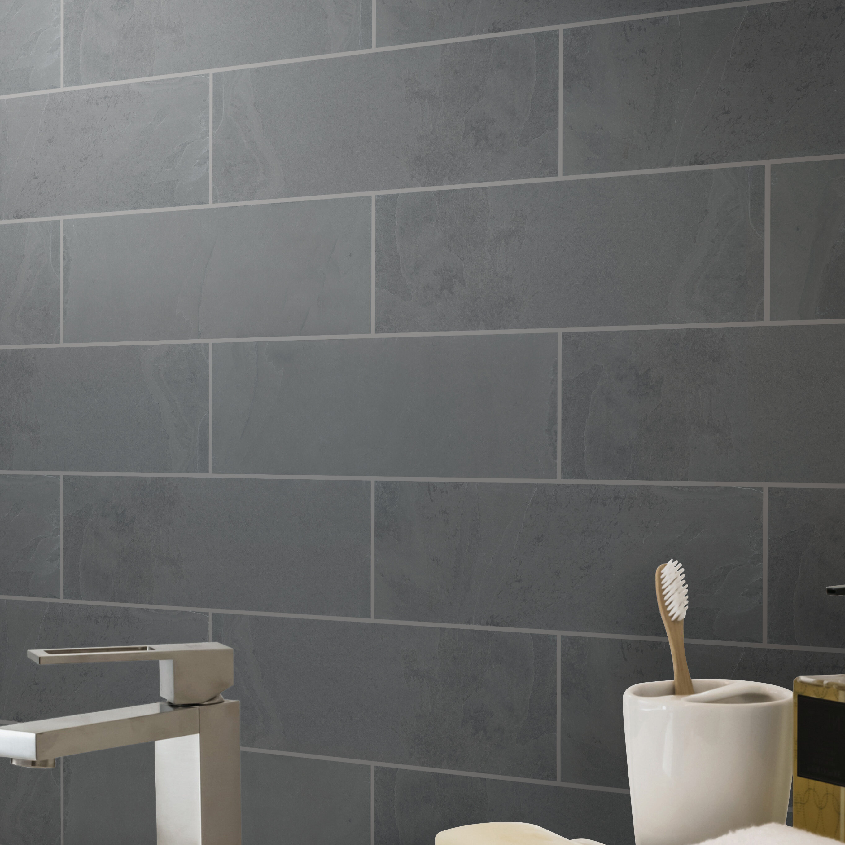 Slate Stone Look Wall Floor Tile