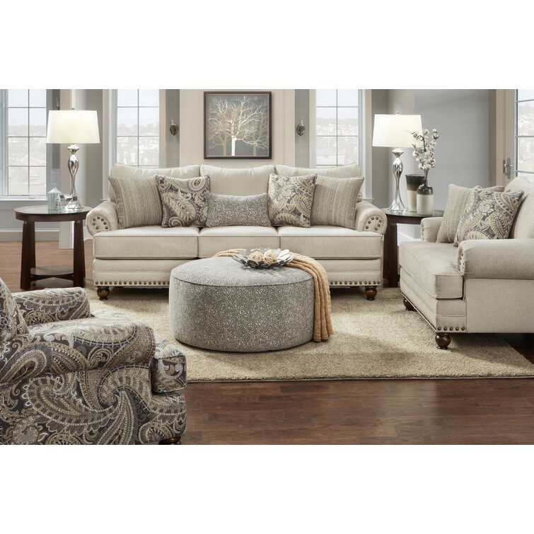 Canora Grey Brockway 4 Piece Living Room Set & Reviews   Wayfair