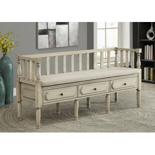 Drumkeeran Upholstered Storage Bench