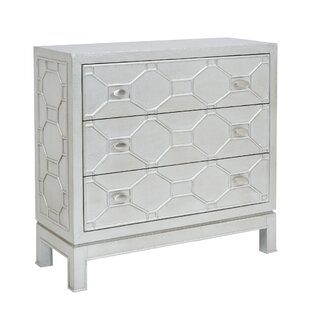 Andrus 3 Drawer Accent Chest by Everly Quinn