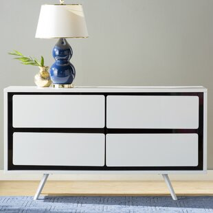 Hal 4 Drawer Double Dresser
