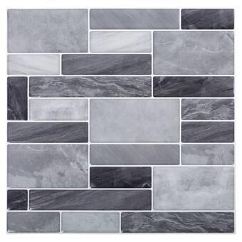 Smart Tiles Milenza Genoa 9 X 10 Gel Peel Stick Mosaic Tile Reviews Wayfair Ca
