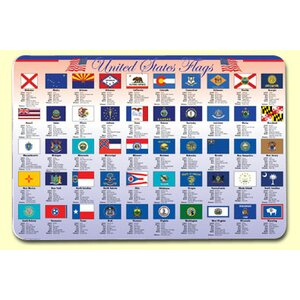 State Flags Placemat (Set of 4)
