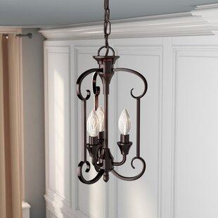 Charlton Home Warner Robins 3-Light Foyer Pendant