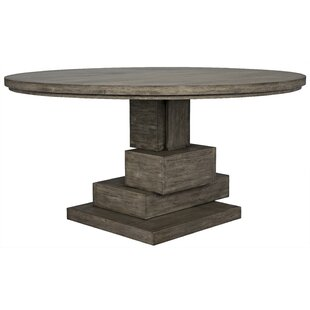 Noir Hancock Solid Wood Dining Table
