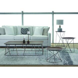 Brayden Studio Allura 4 Piece Coffee Table Set