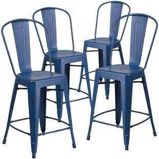 Magnificent Clarita Bar Counter Stool Set Of 4 Andrewgaddart Wooden Chair Designs For Living Room Andrewgaddartcom