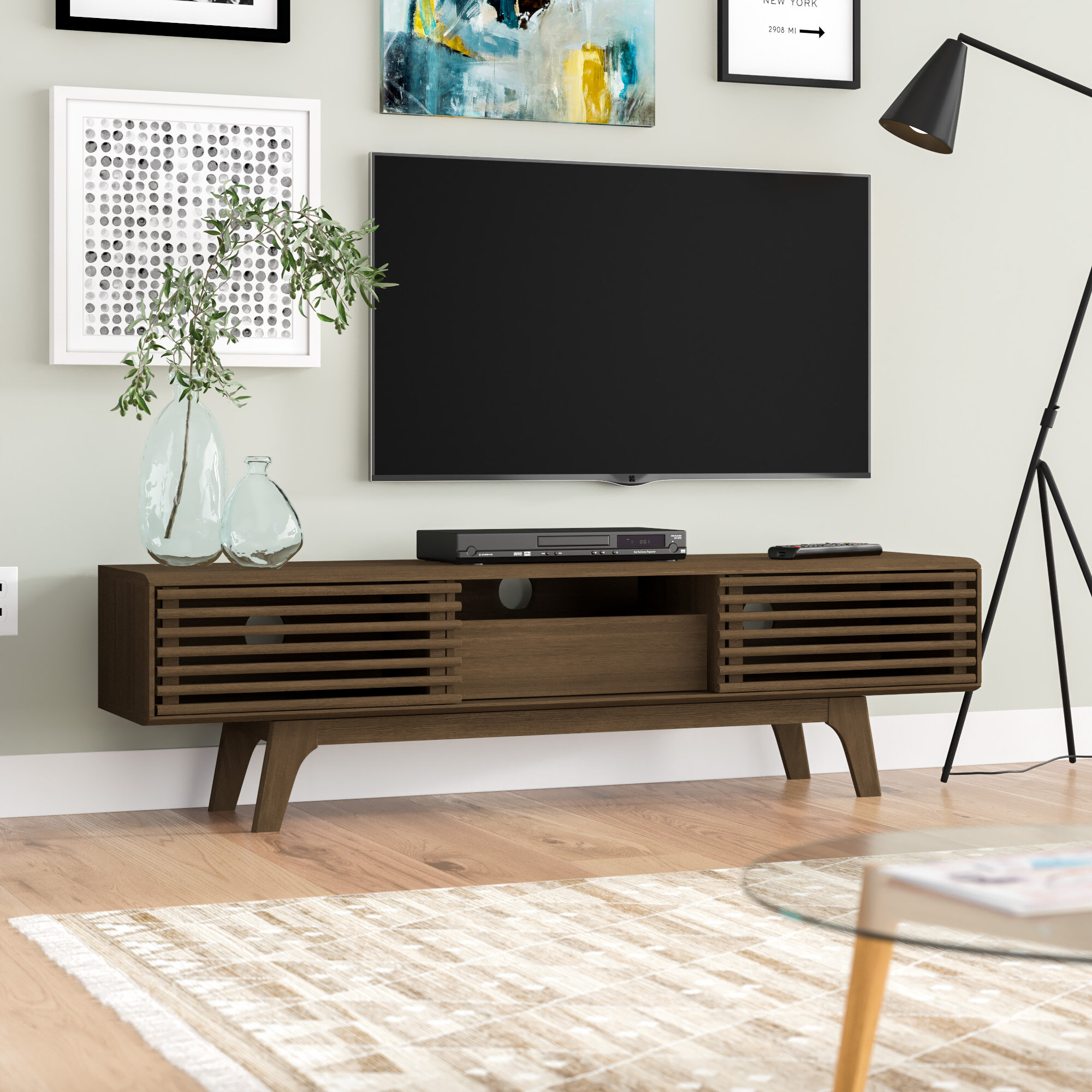 George Oliver Adam Tv Stand For Tvs Up To 60 Reviews Wayfair Co Uk