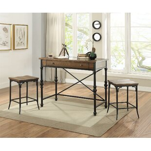Manriquez 3 Piece Pub Table Set Gracie Oaks