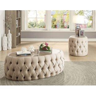 Rosdorf Park Gavyn 2 Piece Coffee Table Set